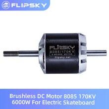 Motore elettrico senza spazzola del pattino di Flipsky 170KV 6000W motore di cc 8085 motore a basso rumore del componente elettronico di vendita calda