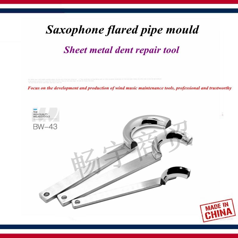 Wind Instrument Repair Tool   Saxophone Maintenance Tool   Saxophone Tube Flared Pipe Mould  Sheet Metal Dent Repair Tool