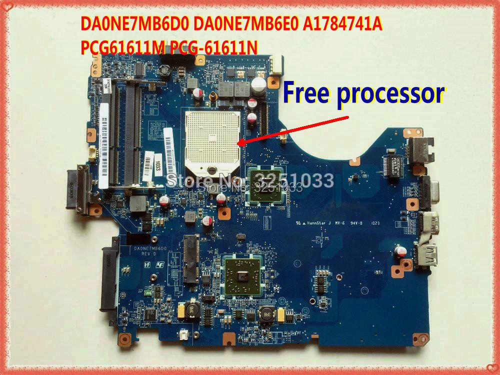 DA0NE7MB6D0 DA0NE7MB6E0 A1784741A PCG61611M PCG-61611N  Laptop Motherboard For Sony PCG-61611M  Ddr3 Main Board