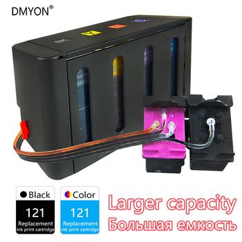 DMYON kompatybilny do HP 121 System stałego zasilania atramentem Deskjet Deskjet D2563 F4283 F2423 F2483 F2493 F4213 F4275 F4283 drukarki tanie i dobre opinie CN (pochodzenie) Drukarka atramentowa Inne Continuous Ink Supply System Black Cyan Magenta Yellow Each color 100ml Continuous printing