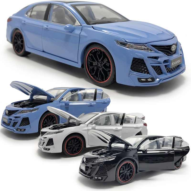 Toyota Camry KHANNIII 1:24 Model Car Diecast Toy Vehicle Kids Gift Collection