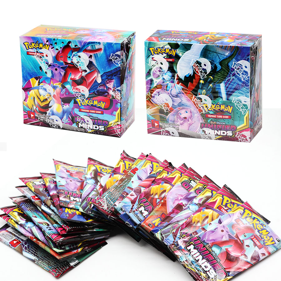 You Boxmon Sun Card And Moon Card XY Evolution Booster Box Collection Exchange Letter GameToy