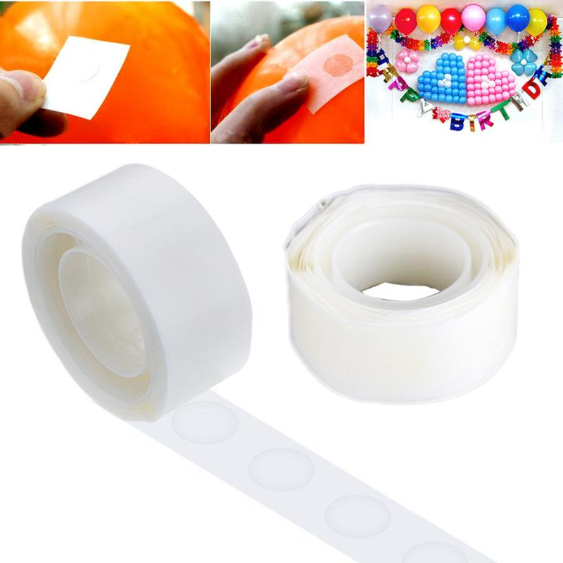 200 Point Balloon Stickers Adhesive Dots Sticker Wall Balloon Double-sided Tape