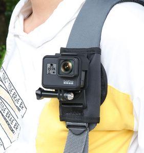 Image 5 - カクレクマノミクイック添付バックパックバッグクリップバックルxiaomi李4 18k mijia移動プロヒーロー345789 sjcam SJ5000 SJ6/8/9プロ/最大H9Rカメラ