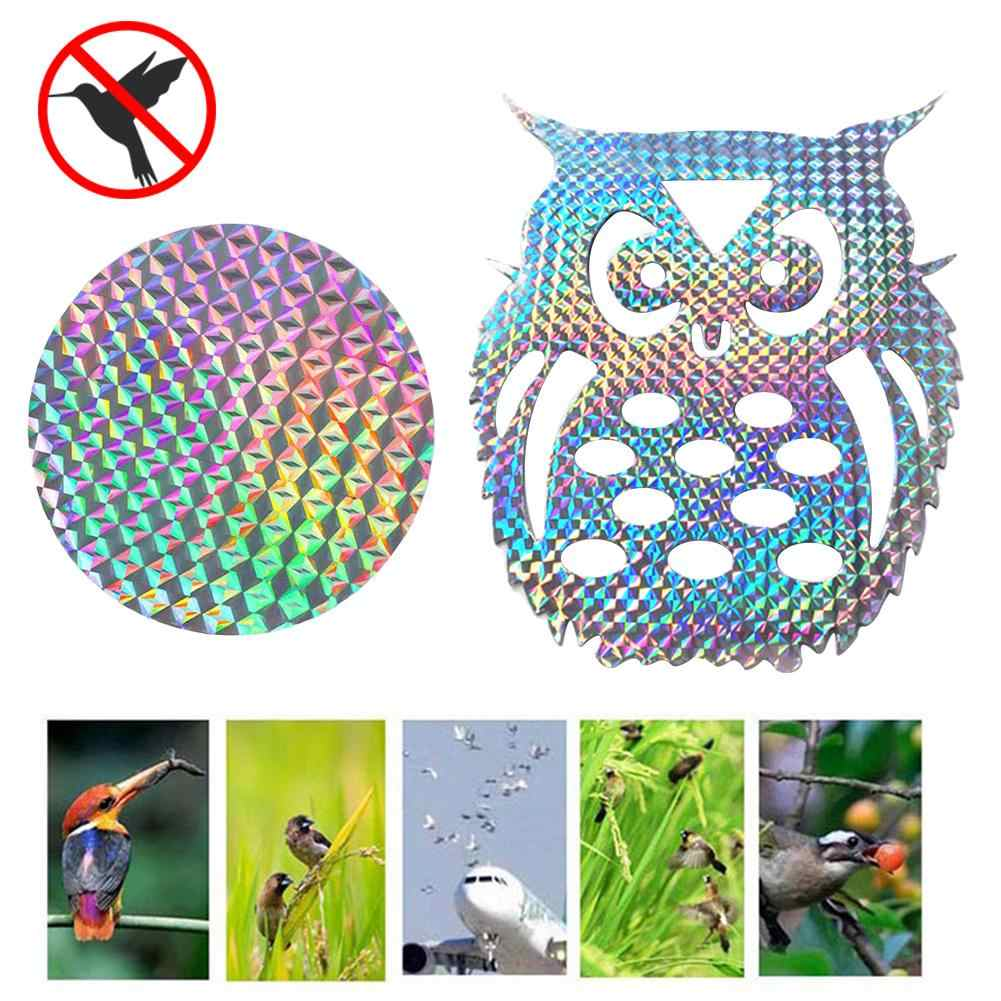 Anti Bird Tape Animal Scare Repellent Reflective Stickers For Garden Patio Safe
