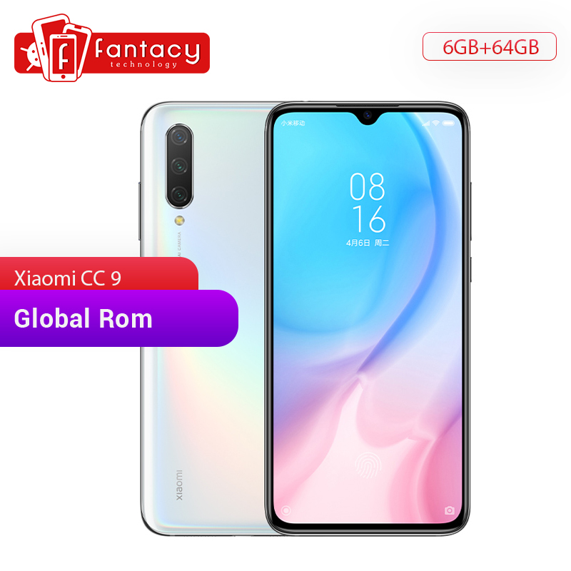 Global Rom Xiaomi Mi CC9 CC 9 6GB RAM 64GB ROM Mobile Phone Snapdragon 710 48MP Triple Camera 32MP Front Camera 6.39