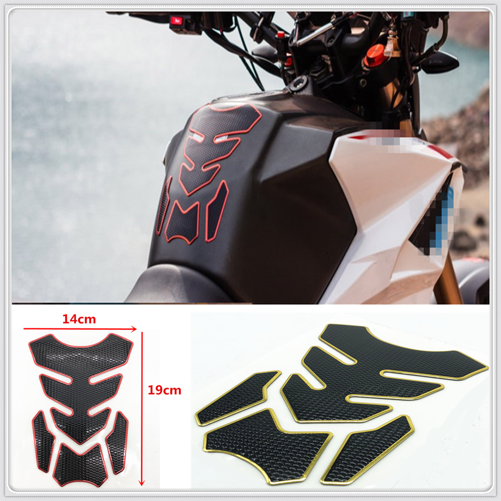 3D universal Motorcycle Fuel Oil Tank Pad Rubber Cover <font><b>Sticker</b></font> For YAMAHA YZF R15 XT660 X R Z <font><b>TMAX</b></font> 500 <font><b>530</b></font> TMAX500 <font><b>530</b></font> 250 image