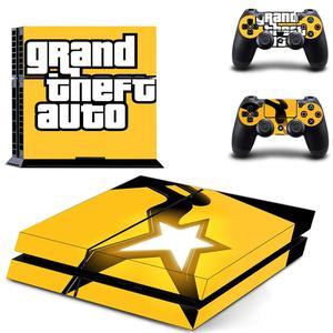 Image 3 - Grand Theft Auto V GTA 5 PS4 Skin Sticker Decals Cover For PlayStation 4 PS4 Console & Controller Skins Stickers Vinyl