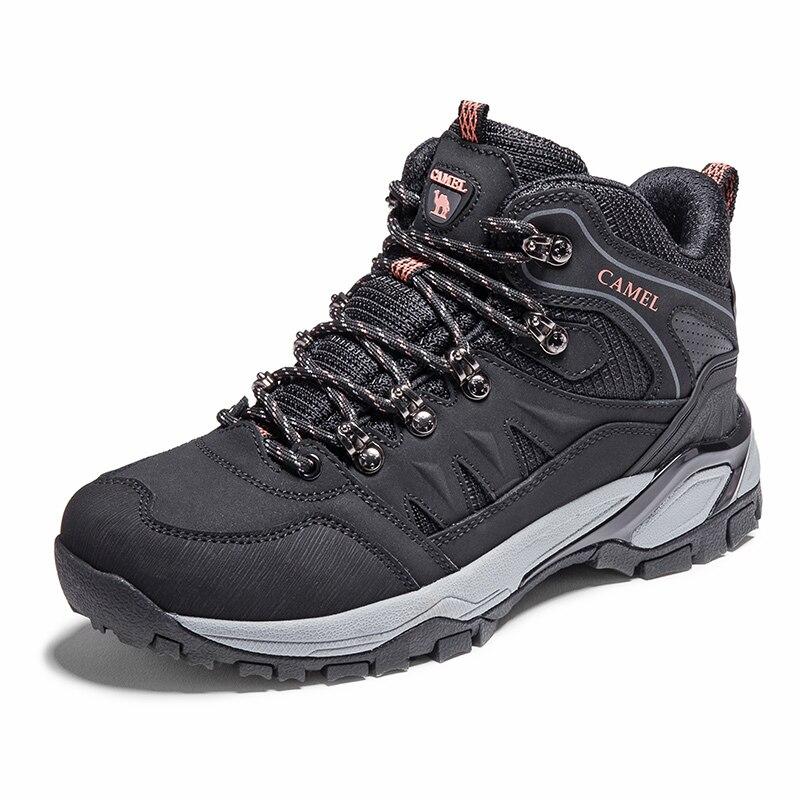 Image 5 - CAMEL/Новинка; женская обувь; высокие походные противоскользящие  дышащие ботинки для альпинизма; треккинговые ботинки; уличная спортивная  обувьПоходная обувь