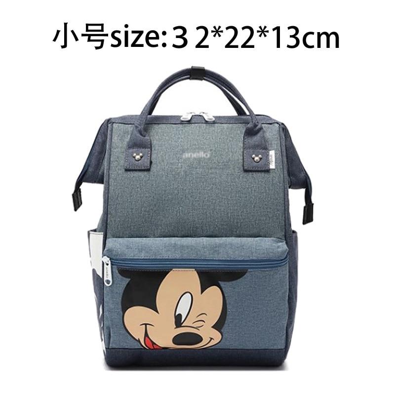 New Disney Mummy Diaper Bag Maternity Nappy Nursing Bag For Baby Care Travel Backpack Designer Disney Mickey Minnie Bags Handbag