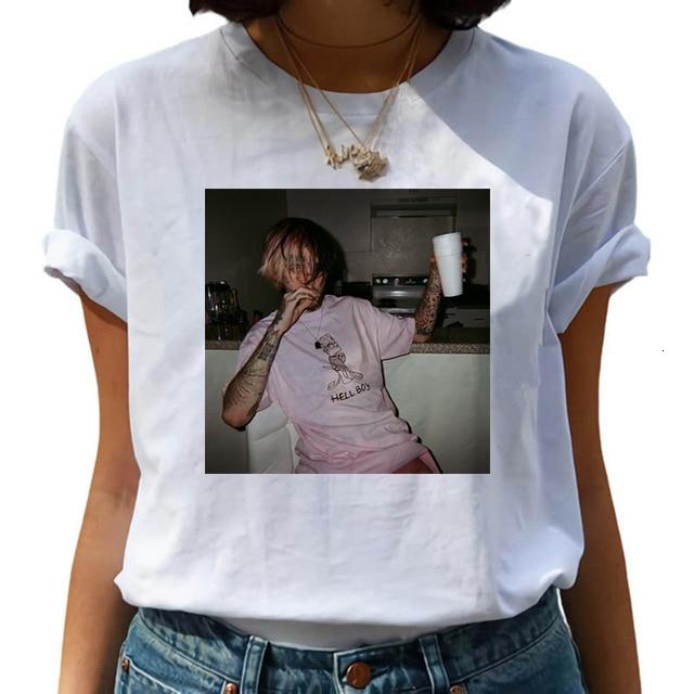 lil peep shirt,lil peep t shirt(China)