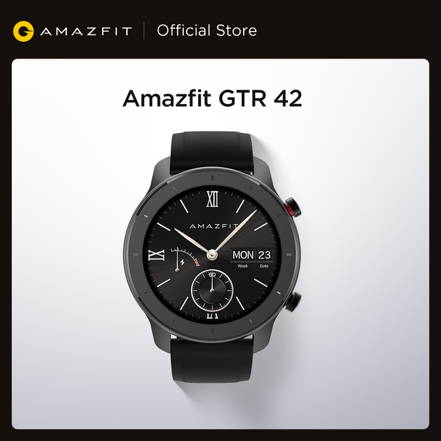 Global Version Amazfit GTR Smart Watch GPS Music 12 Days Battery 5ATM Man Woman Watch-42mm 1
