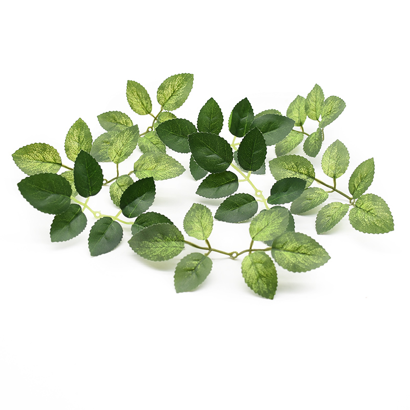 20pcs Silk Rose Leaves Diy Gifts Candy Box New Year Christmas Decorations For Home Scrapbooking Wedding Cheap Artificial Plants