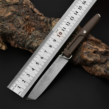 Free shipping a sharp Handmade D2 steel Hunting Knife G10 handle Camping Survival Knife Fixed Blade Tactical Knife недорого