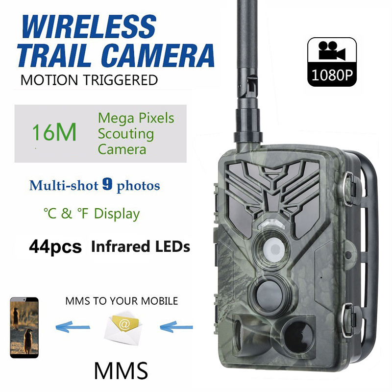 2G 3G 4G SMS MMS EMAIL Trail Camera 20MP 1080P Night Vision Hunting Camera With night infrared LEDS Photo Traps scouting camera image
