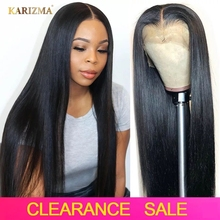 13X4 Lace Front Human Hair Wigs Straight Lace