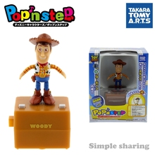 TAKARA TOMY arts popn step pixar disney figure baby toys anime kids doll woody funny child bauble play connectable