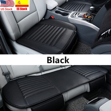 Universal Auto Car Seat Covers Protector Pad Mat Breathable PU Leather Car Front Rear Back Seat Cover Auto Seat Cushion 4 Colors universal auto car seat cover auto front rear chair covers seat cushion protector car interior accessories 3 colors