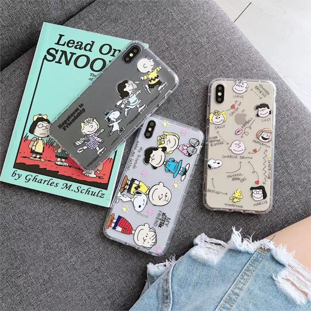 Cartoon Charlie Brown Lucy Cute iPhone Case