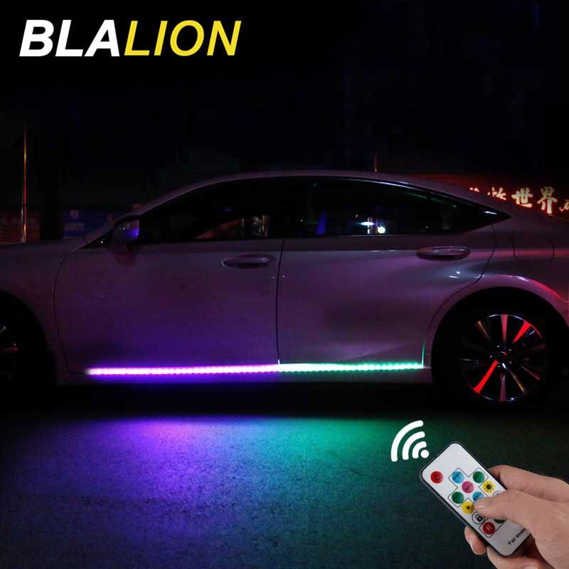 12v led car door lights universal auto door atmosphere lamp exterior cars door decorative light auto light strips accessories