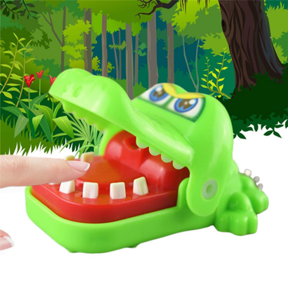 Biting Hands Toys Crocodile Tricky Toy Touching Model Key Chains Stress Reliever Toys For Children Funny Gift