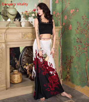 Belly Dance clothes Adult  Lace Top or skirt Practice Clothes New Hip Scarf Professional Performance Training Clothing - discount item  50% OFF Stage & Dance Wear