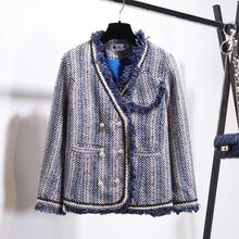 Early Autumn Suit 2019 A New Small Fragrance Weird Jacket Cool and Handsome Short Coat Women
