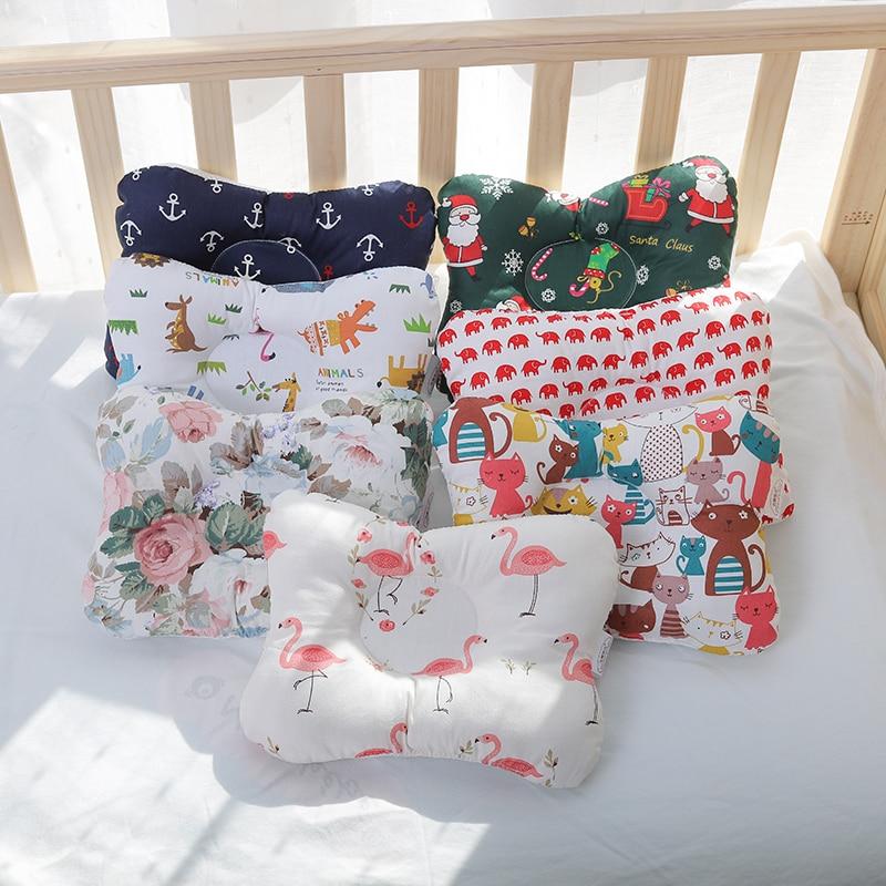 [simfamily]Baby Nursing Pillow Infant Newborn Sleep Support Concave Cartoon Pillow Printed Shaping Cushion Prevent Flat Head 6