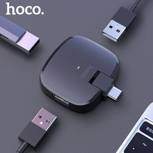 HOCO Type C HUB 3 Port USB-C to USB  Splitter Converter OTG Adapter Cable for Macbook Pro iMac PC Laptop Notebook Accessories 3 ports usb c hub type c splitter with tf card reader for macbook pro imac pc laptop notebook accessories usb c hub