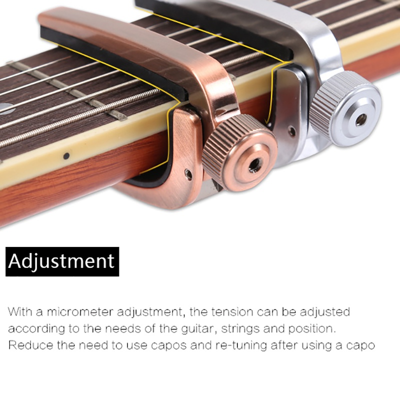 Hot Guitar Capo Alloy Metal Music Acoustic Classic Electric Guiar Accessories Guitar Capo Guitar Musical Instrument Accessories