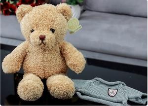 Милый плюшевый мишка, 30 см, плюшевая игрушка, мягкая игрушка, кукла Playmate, игрушка для детей, подарок на день рождения, полипропилен, хлопок Мягкие игрушки животные      АлиЭкспресс