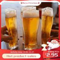 Super Schooner-vasos de cerveza con tazón taza Separable, 4 partes, jarra de cerveza gruesa de gran capacidad, transparente, para Club, Bar y fiesta