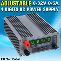 NEW NPS 1601 CPS 3205 3205II Mini Adjustable Digital Switch DC Power Supply With WATT Lock Function 0.001A 0.01V 32V 30V 5A