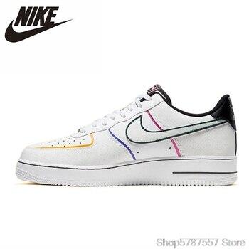 Nike Air Force 1 Women White Skateboarding Shoes Original Light-Weight Outdoor Sports Sneakers CT1138-100 недорого
