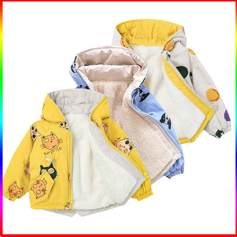 12M-7T Bambini Giacca Outdoor Giacca In Pile Per Bambini per Bambini Primavera Autunno Giacca Con Cappuccio Giacca A Vento Caldo giacca Per Le Ragazze