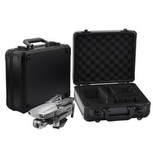 Aluminum Box For DJI MAVIC 2 Pro Zoom Storage Bag Carrying Case Hardshell Handbag Waterproof Suitcase EVA Quadcopter Accessories original realacc black handbag backpack bag carrying case suitcase for eachine wizard x220 rc quadcopter multicopter with sponge