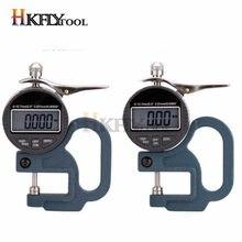 0.001 Mm/0.01 Mm Digitale Display Diktemeter Meter 12.7 Mm Draagbare Lcd Elektronische Dikte Tester