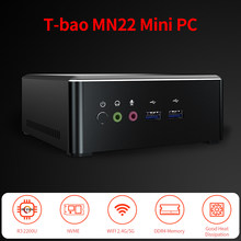 16GB pamięci RAM 512GB M.2 NVNE SSD Mini PC AMD Ryzen 3 2200U Radeon Vega 3 grafika Mini PC dla domowego biura(China)