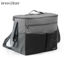 Insular diaper bags baby bag Waterproof multifunctional large-capacity shoulder mummy bag backpack for a stroller