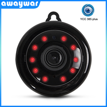 Awaywar 미니 720P HD 와이파이 IP 카메라 무선 홈 보안 네트워크 CCTV 감시 마이크로 카메라 IR 야간 투시경 베이비 모니터