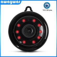 Awaywar minicámara IP inalámbrica de seguridad para el hogar, red CCTV, vigilancia, visión nocturna IR, Monitor para bebés, 720P HD