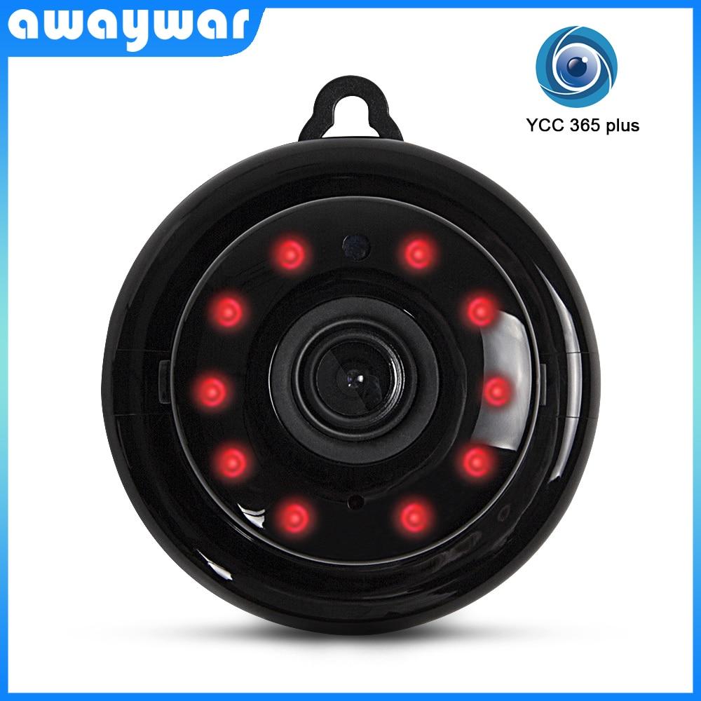 Awaywar Mini 720P HD Wifi IP Camera Wireless Home Security Network CCTV Surveillance Micro Camera IR Night Vision Baby Monitor