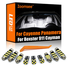 Zoomsee Canbus Für Porsche Panamera 970 Cayenne 9PA 92A 996 997 Boxster 986 987 981 Macan 95B Cayman 987 981 innen LED Licht