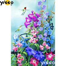 Full Square/Round drill diamond Painting Spring flowers 5D DIY diamond embroidery mosaic Decoration painting AX0110 full square round drill diamond painting snails love 5d diy diamond embroidery mosaic decoration painting ax0110