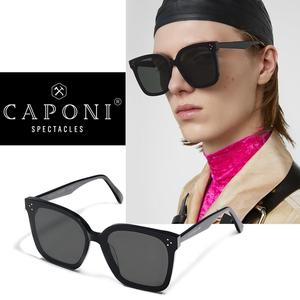 Image 3 - CAPONI Gentle Jennie Sunglasses 2020 Her Women Sunglasses Korea Famous Brand Unisex Star Fashion Vintage Lady Sun Glasses GM2020