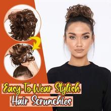 Barber Accessories Headwear Fashion Easy-To-Wear Stylish Hair Circle Women Girls Hairbands Elastics Scrunchie hair accessories