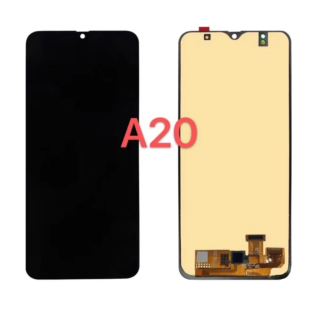 For Samsung A20 A205 lcd display touch Screen digitizer assembly replacement for galaxy A20 <font><b>SM</b></font>-<font><b>A205F</b></font> <font><b>A205F</b></font> lcd panel oled lcd image
