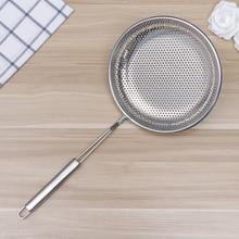 Strainer Skimmer Stainless-Steel for Home-Restaur Utensil Spoon Ladle Colander-Scoop
