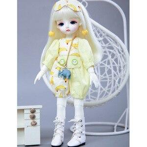 Image 2 - LCC Chloe BJD SD Pop 1/6 Body Hoge Kwaliteit Hars Speelgoed Gratis Eye Ballen Fashion Christmas Gift