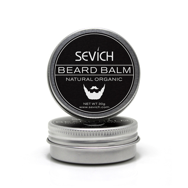 Sevich Natural Beard Balm Beard Conditioner Professional For Beard Growth Organic Mustache Wax For Beard Smooth Styling 2